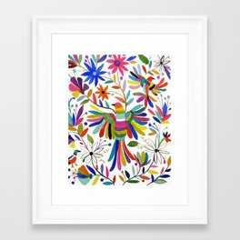 otomi bird Framed Art Print