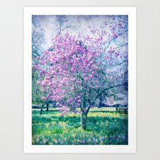 Glossed with Summer Sheen Art Print