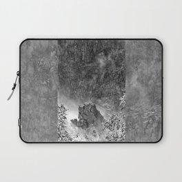 Rocks in the falls Laptop Sleeve