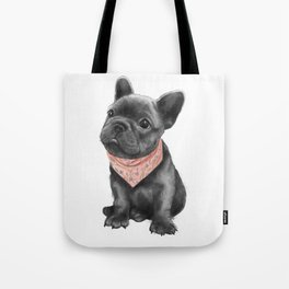 parlez-vous frenchie? Tote Bag