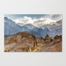 Mount Whitney Sunset Canvas Print