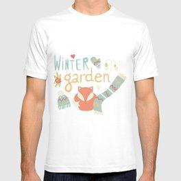 Winter garden pattern 001 T-shirt