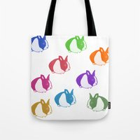 floyd Tote Bags featuring Floyd by Tooter