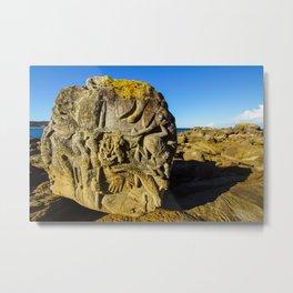 Rock Sculpture, Palm Beach Metal Print