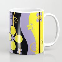blossom Mugs featuring Blossom by Graphic Tabby