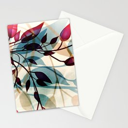 Flood of Leafs Stationery Cards