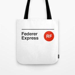 Federer Express Tote Bag