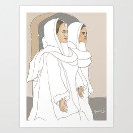 Punjabi Mutiyars 1 Art Print