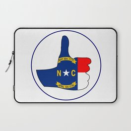 Thumbs Up North Carolina Laptop Sleeve