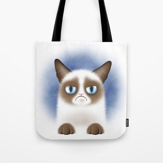 Nope (Grumpy Cat) Tote Bag