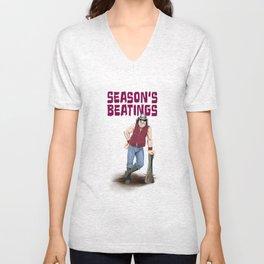 Season's Beatings Unisex V-Neck
