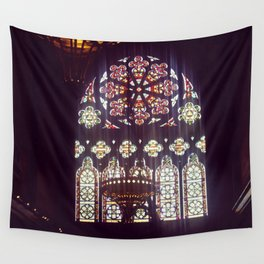 Stained Glass Church Wall Tapestry