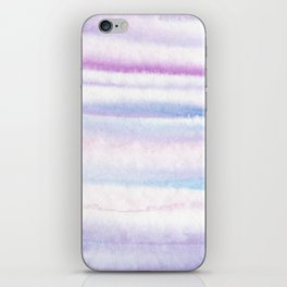 Lilac watercolor fantasy iPhone Skin