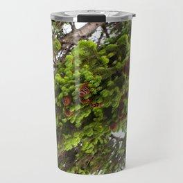 Large spruce fresh shoots Travel Mug