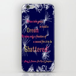 The Kiss of Deception- Mary E Pearson iPhone Skin