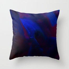 MACRO NEON TEA Throw Pillow