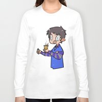 winchester Long Sleeve T-shirts featuring Steve Winchester by oh, wolves
