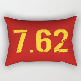 7.62 Ammo Rectangular Pillow