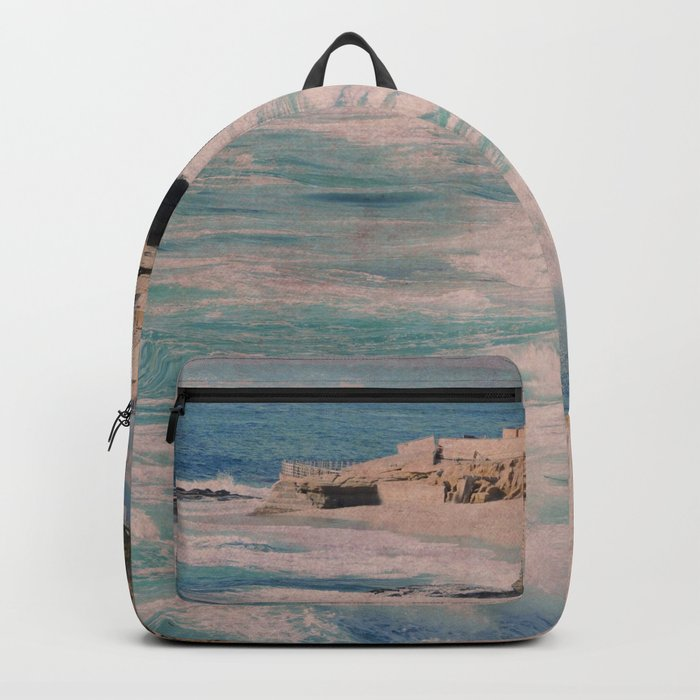 BOYS ON A ROCK Backpack