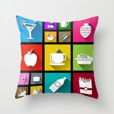 Gastro Windows 8.1 Throw Pillow