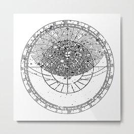 Astrolabe Metal Print