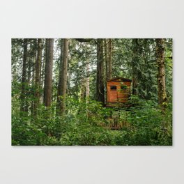 Treehouse Home Canvas Print