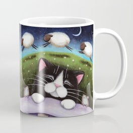 Cat - Sheep Dreams Coffee Mug