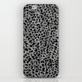 Abstract texture mesh net iPhone Skin