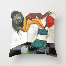 Retrait Throw Pillow
