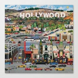 Hollywood California Canvas Print