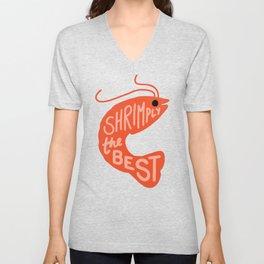 Shrimply the Best Unisex V-Neck
