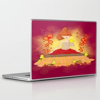 meditation Laptop & iPad Skins featuring Meditation by KeijKidz