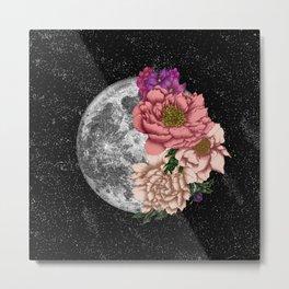 Magical Moon Abloom Metal Print
