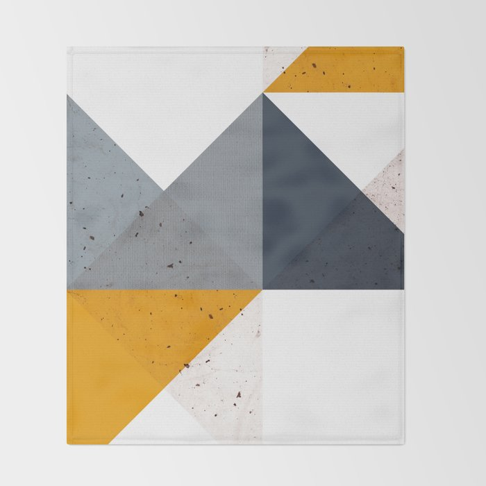 Modern Geometric 19/2 Throw Blanket