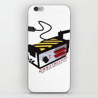 ghostbusters iPhone & iPod Skins featuring Ghostbusters by JAGraphic