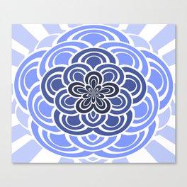 Retro Peacock Canvas Print