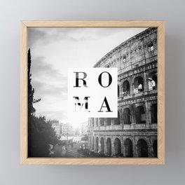 Roma Framed Mini Art Print