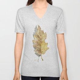 Oak leaf  Unisex V-Neck