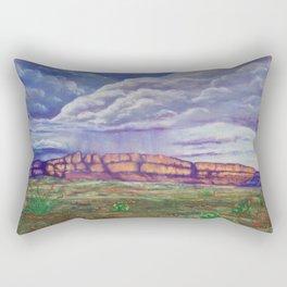 Rainy Day in the Mountains Rectangular Pillow