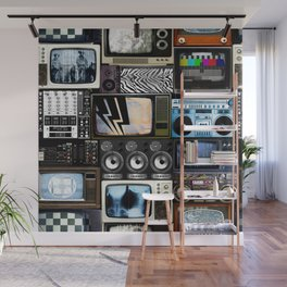 Retro Technology. Wall Mural