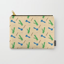 Bongs, Blunts, Joints Pattern Carry-All Pouch