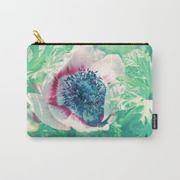 Lovely Summerflower in light green Carry-All Pouch