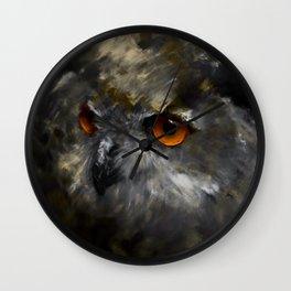 Ruler of the Night Wall Clock