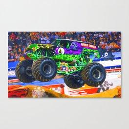 Monster Jam Grave Digger Canvas Print
