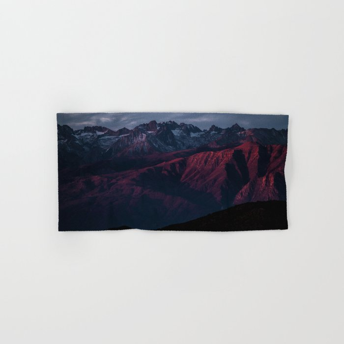 Mountain Landscape #sunset Hand & Bath Towel