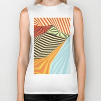 mountains Biker Tanks featuring Yaipei by Anai Greog