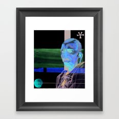 Wise Man Framed Art Print