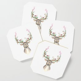 Deer Goddess Coaster