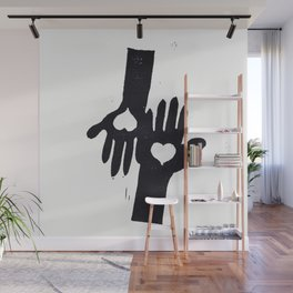 Hand in Hand Wall Mural