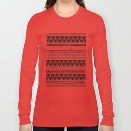 Winter Stripe Long Sleeve T-shirt